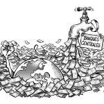 Inondés de cash