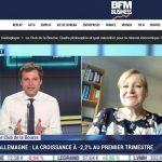 Valérie Plagnol invitée du «Club de la Bourse» le 15  Mai sur BFM Business