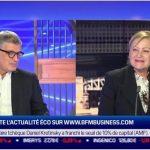 Valérie Plagnol :  «C'est votre argent » sur BFM Business le 6 Novembre