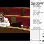 Valérie Plagnol à la Commission Finances du Sénat le 17 Février